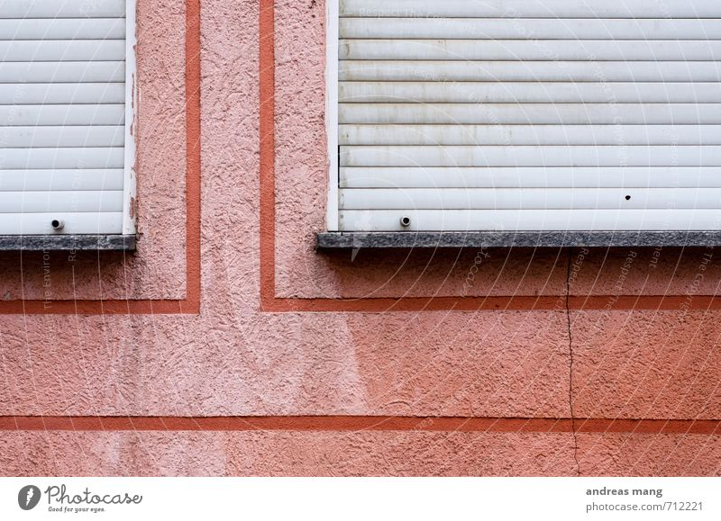 Old City Red Window Wall (building) Lanes & trails Wall (barrier) Line Pink Facade Dirty Gloomy Closed Transience Decline Sharp-edged