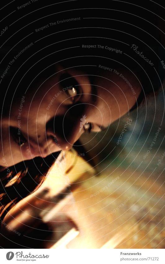 Woman Face Dark Dream Creepy Evil Mystic Hatred Eerie Nightmare Mistrust Revenge