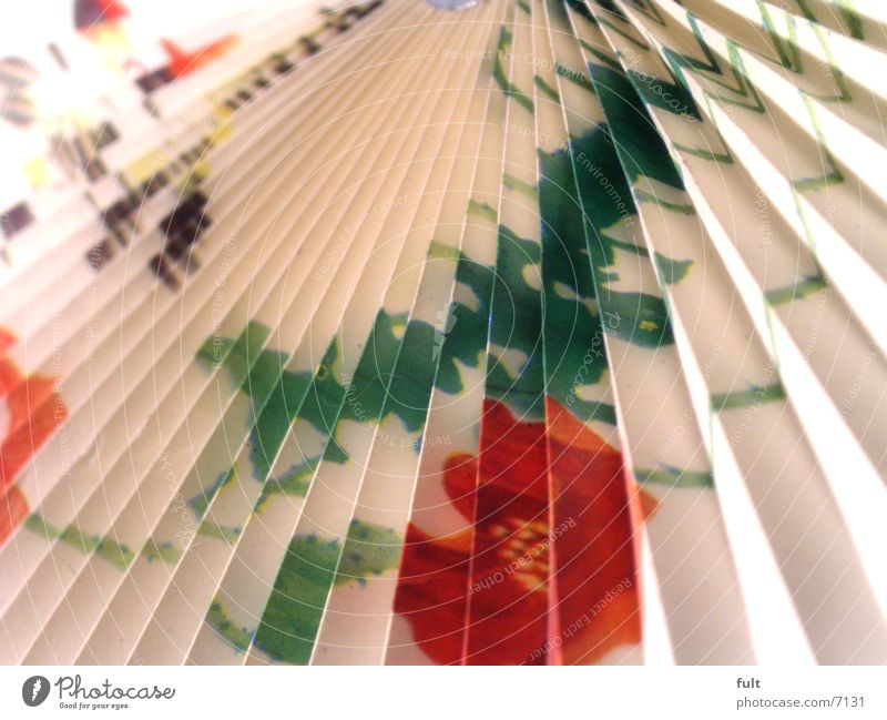400 times folded Colour Guide Paper White Multicoloured Folded Macro (Extreme close-up)
