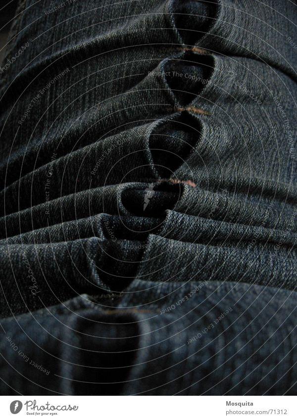 Joy Dark Clothing Industry Jeans Pants Wrinkles Stitching