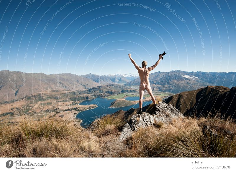 Human being Nature Man Naked Plant Summer Landscape Animal Far-off places Adults Environment Mountain Warmth Natural Rock Horizon