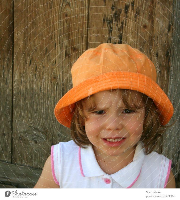 Child Orange Wood flour