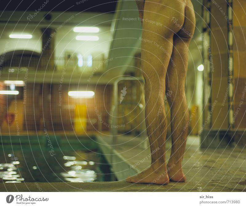 Old Green Dark Yellow Eroticism Architecture Swimming & Bathing Stone Brown Legs Jump Feet Dream Masculine Skin Stand