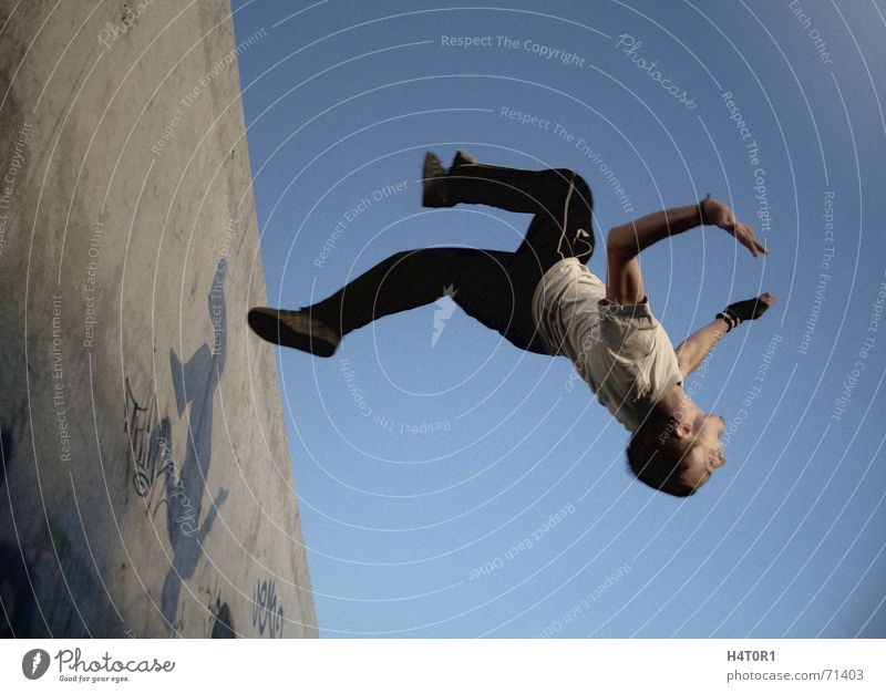 Wallflip Jack one Parkour Dream Gravity Salto Crazy Sports Free Sky Aviation free running Flying Freedom wallflip