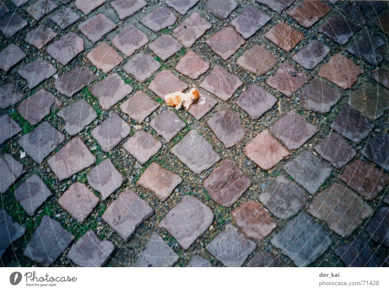 Two normal, one whole grain, please. Nuggets Sheep Delicious 1999 Footstep Pure Street Jail sentence Stone Cobblestones Pain Lanes & trails pigeon food