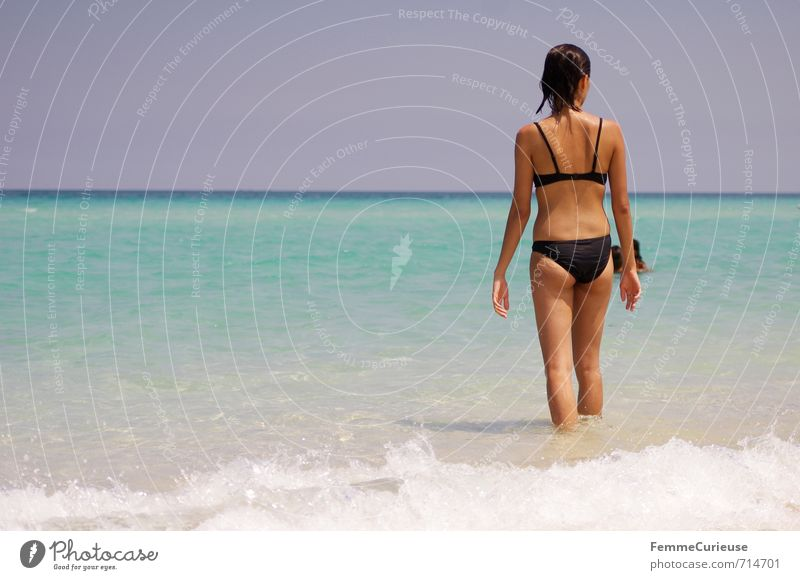 Beach time! (XI) Feminine Young woman Youth (Young adults) Woman Adults 1 Human being 13 - 18 years Child 18 - 30 years Contentment Relaxation Experience