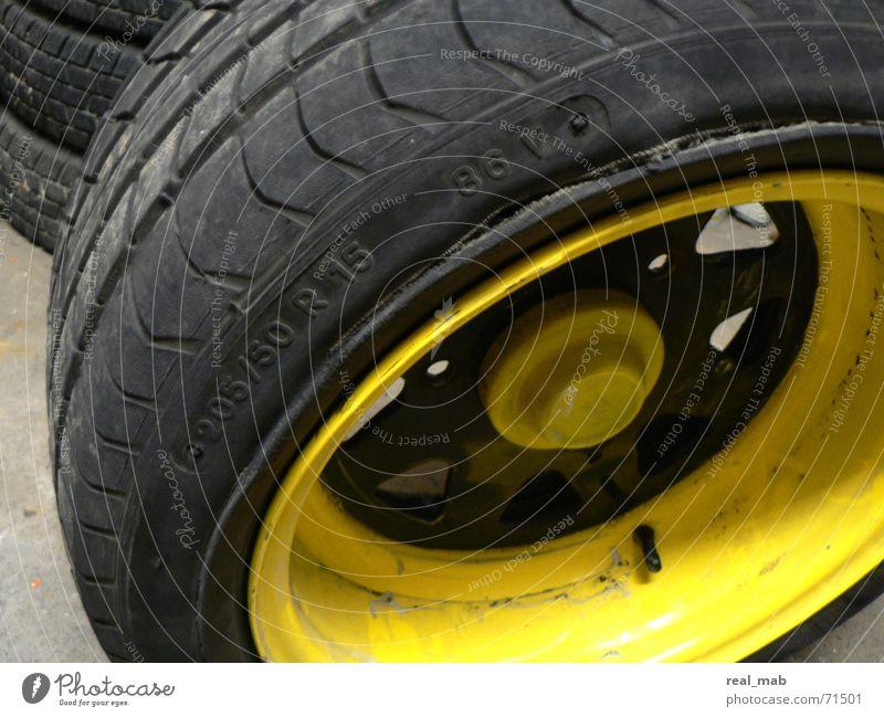 Tire Duck Damage