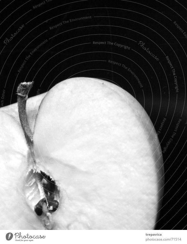 apple II Healthy Vitamin Half Average Anatomy Longing Miss Lack Fruit Black & white photo Nutrition Nature