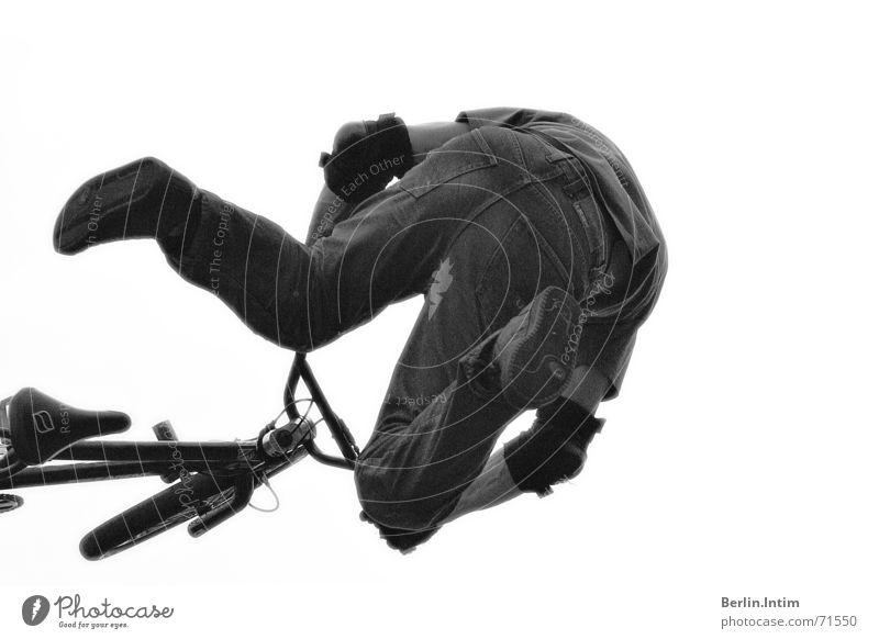 White Black Jump Style Bicycle BMX bike 2006