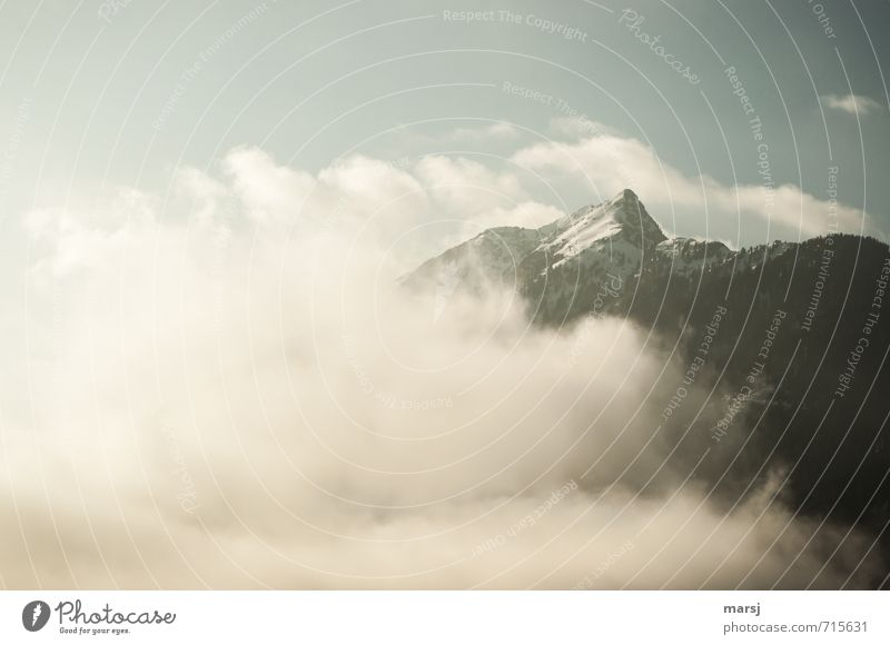 Sky Nature Landscape Clouds Winter Cold Mountain Autumn Spring Freedom Exceptional Rock Horizon Weather Fog Climate