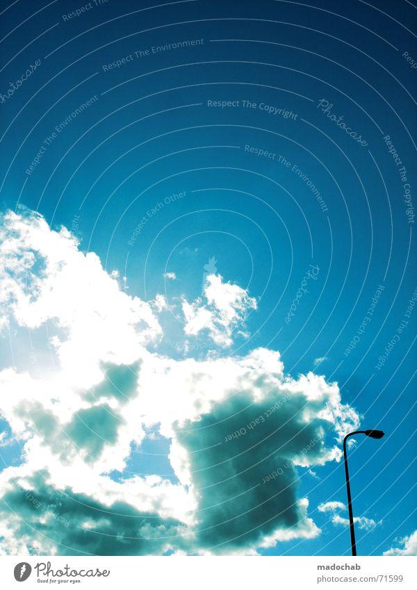 Sky Clouds Contentment Trust Lantern