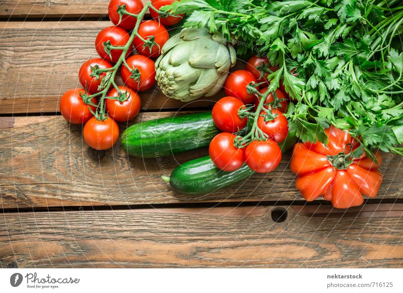 Fresh vegetables from the market Food Vegetable Lettuce Salad Nutrition Organic produce Vegetarian diet Diet Lifestyle Shopping Healthy wood Background picture