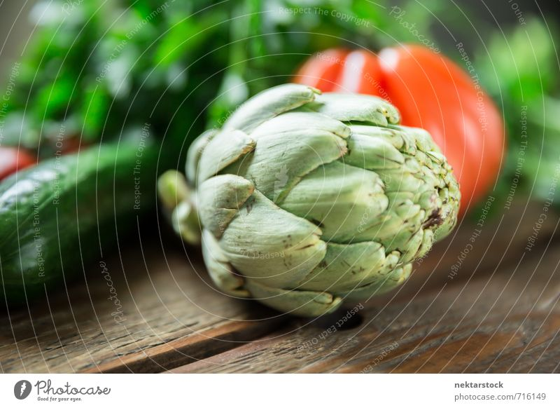 Fresh vegetables from the market Food Vegetable Lettuce Salad Artichoke Nutrition Organic produce Vegetarian diet Diet Fasting Lifestyle wood Background picture