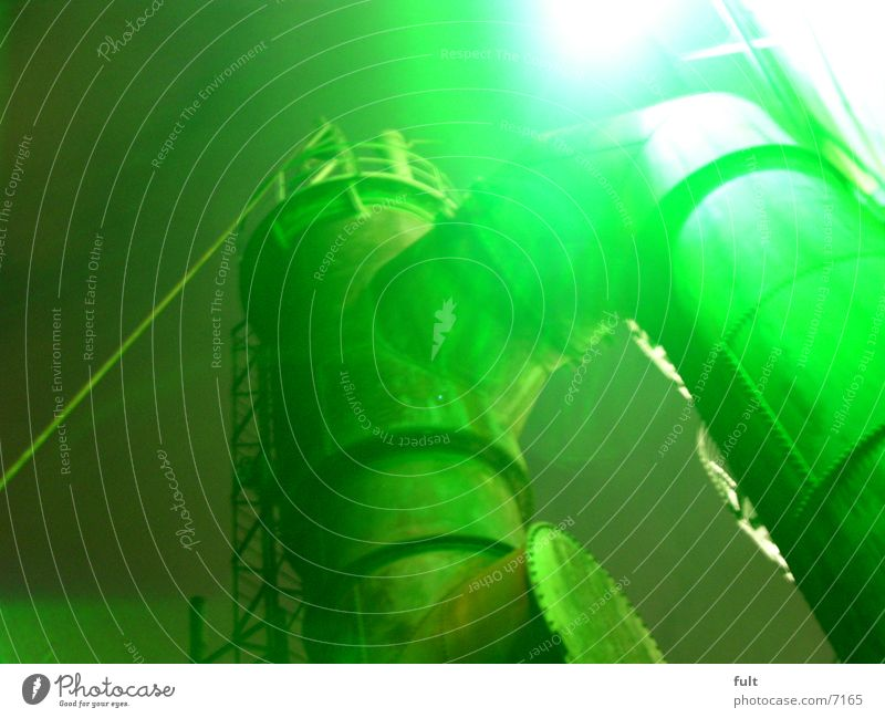 Green Style Industry Steel Iron Night shot The Ruhr Boiler Landschaftspark Duisburg-Nord