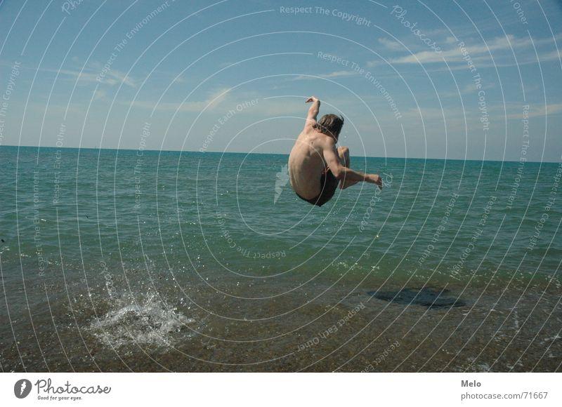 Water Ocean Jump Italy