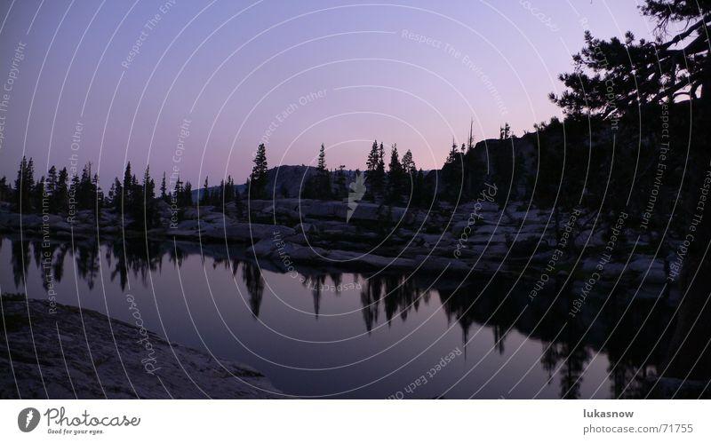 Vacation & Travel Calm Cold Mountain Dream Lake Hiking Fresh Clarity Dusk Clearing Granite Mountain lake