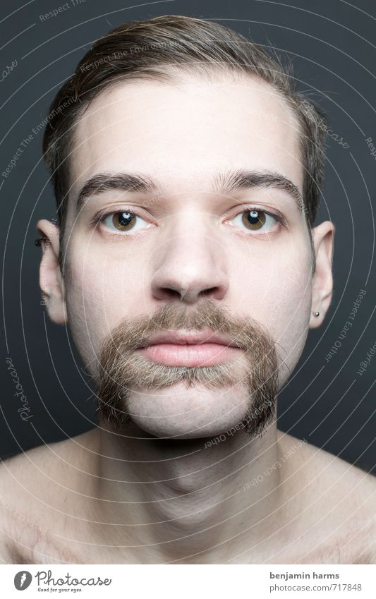 change #2 Masculine Young man Youth (Young adults) Head 1 Human being 18 - 30 years Adults Brunette Part Facial hair Moustache Beard Change Colour photo