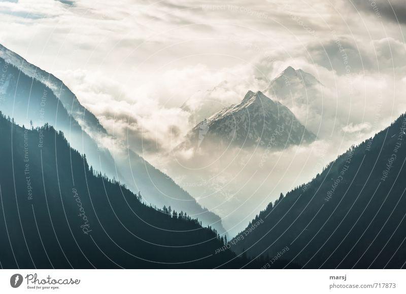 Sky Nature Summer Landscape Clouds Mountain Spring Autumn Rock Horizon Weather Fog Threat Elements Peak Alps