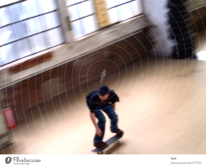 skater Motion blur Extreme sports Skateboarding fun move