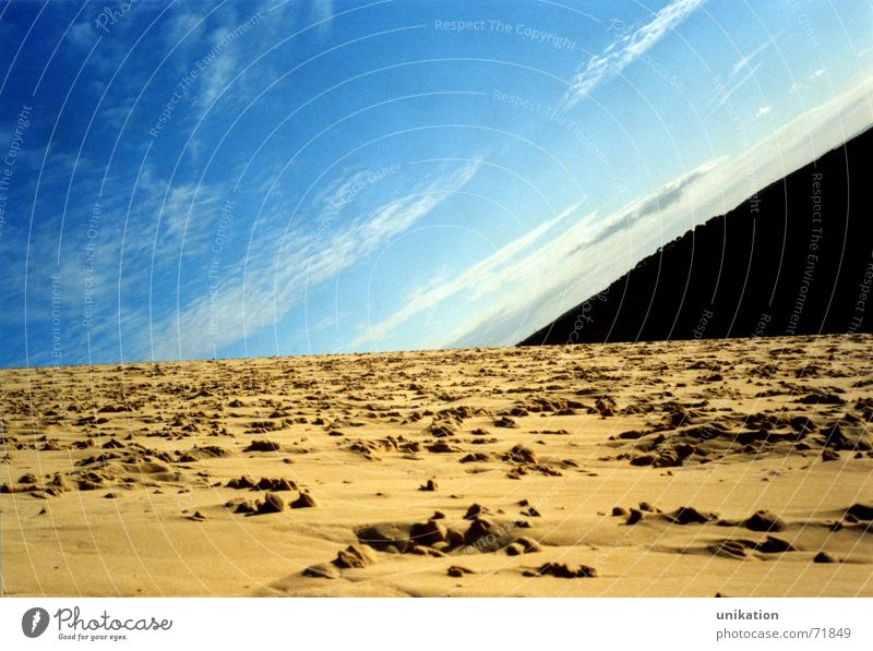 Sky Blue Beach Clouds Earth Crazy Universe Surrealism Arcachon
