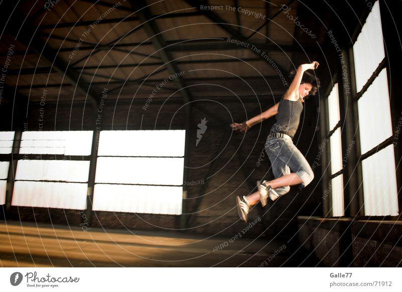 Joy Jump Freedom Free Action Dynamics Warehouse