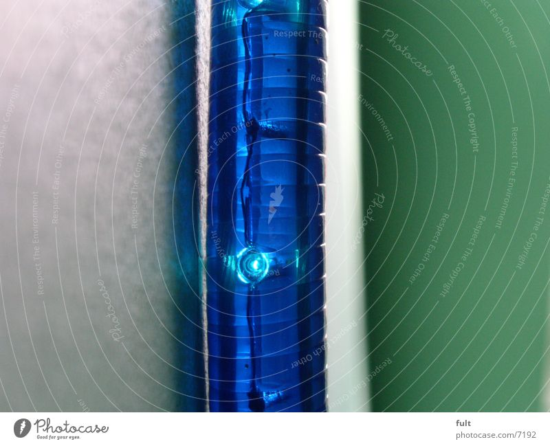 light tube Tube light Macro (Extreme close-up) Green Curved Style Things Blue Plastic Lamp