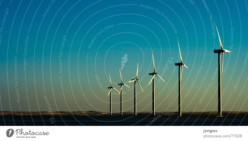 Power Coast Dirty Wind Environment Energy Industry Energy industry Technology Climate Clean Wind energy plant Evening Oil Gas Climate change