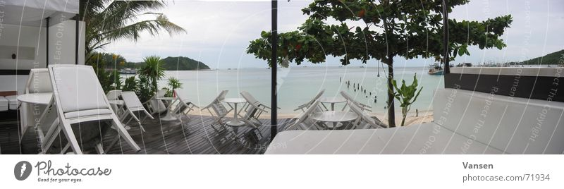 Ocean Rain Large Vantage point Bar Panorama (Format) Thailand