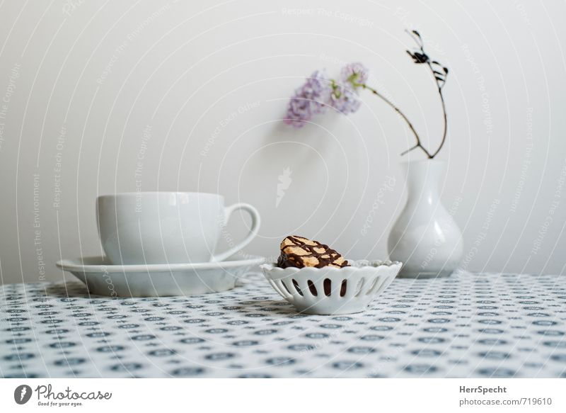 Beautiful White Interior design Gray Living or residing Decoration Esthetic To enjoy Table Clean Joie de vivre (Vitality) Retro Round Coffee Tea Still Life