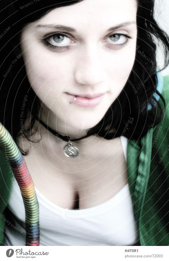 Woman Beautiful Eyes Feminine Trust Jewellery Make-up Curve Alluring