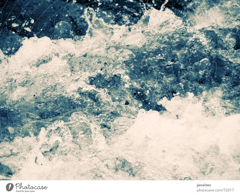 Nature Water White Ocean Blue Winter Cold Movement Lake Waves Drops of water Frozen Dynamics Baltic Sea Inject Foam