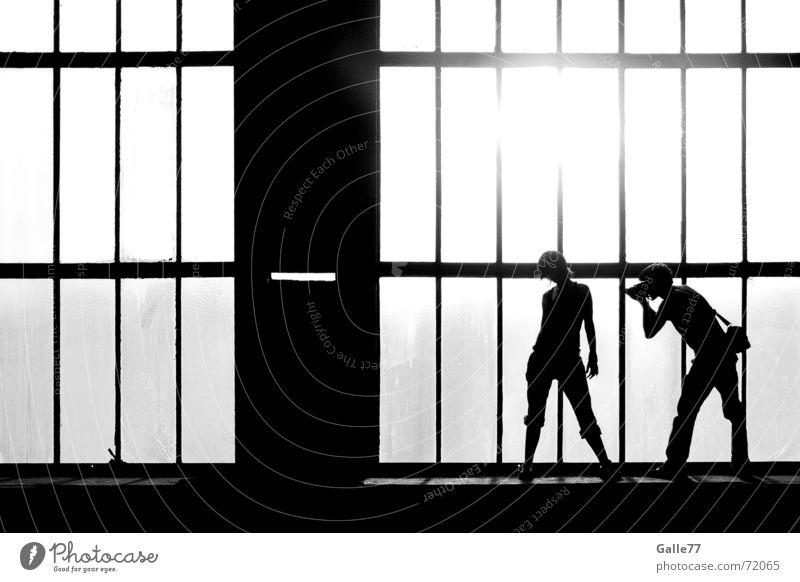 photo shooting Photographer Photo shoot Posture Light Back-light fesh young Dynamics bw