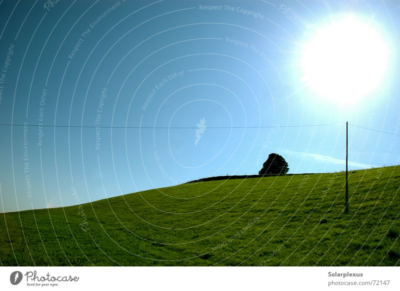 Sun Horizon Power transmission Morning Elevation Magic wand Globe light