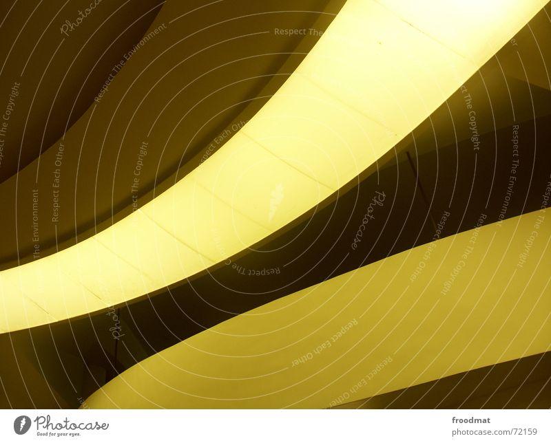 swing Yellow Light Minimal Brazil Rio de Janeiro Graphic oskar niemeyer looked up niteroi Architecture