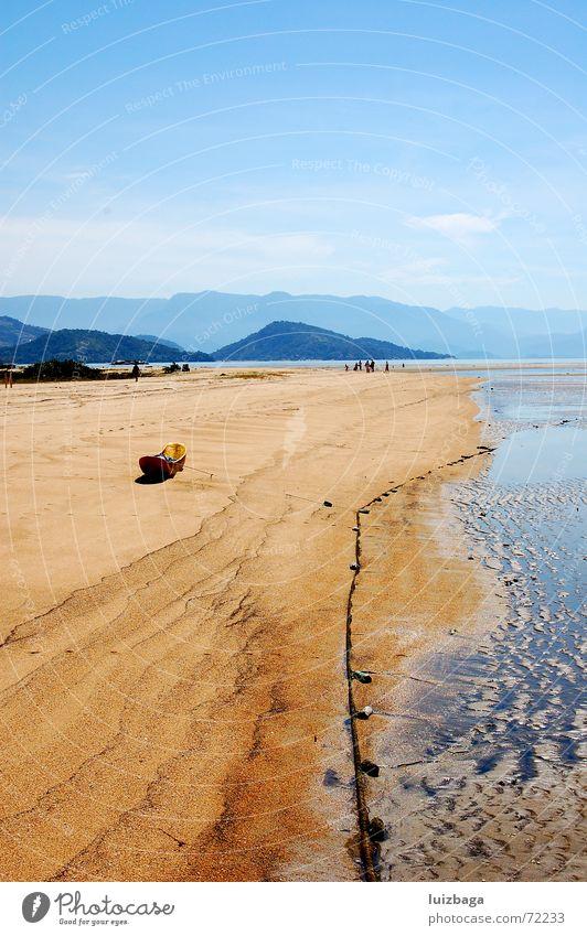 Paraty Beach Brazil Summer ready sun Sand sea day hills boat