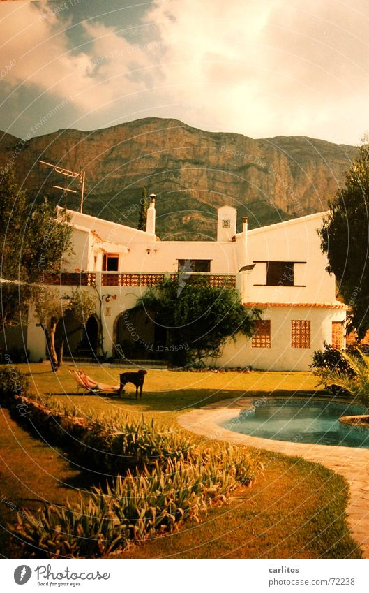 Javea '94 Spain Costa Brava Vacation & Travel Vacation home Summer Swimming pool montgó Sun spider plague no sat-tv english food early departure