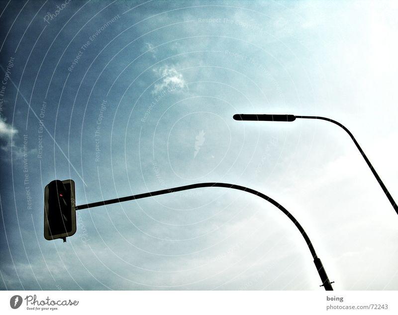 Rossfettmarmelade - Variety shrinks to simplicity Traffic light Lantern Biedermeier Hold Street lighting Dangerous Safety Transport bread soup stems of light