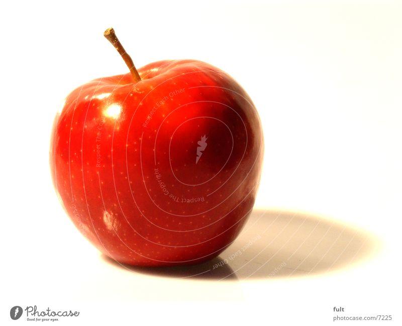 Nature Red Nutrition Healthy Food Fruit Fresh Round Lie Apple Stalk Delicious To enjoy Vitamin Bite Crunchy