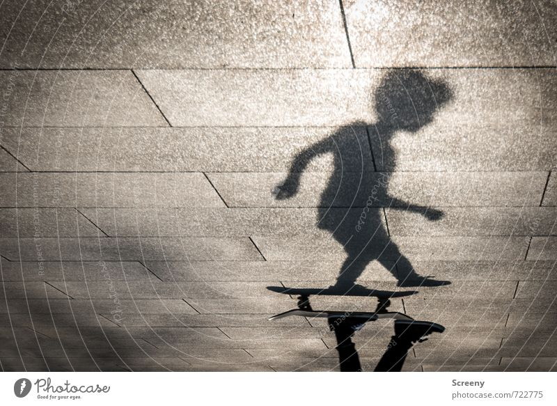 On the move #2 Leisure and hobbies Skateboarding Human being Body 1 Park Places Skate park Movement Driving Speed Town Joy Contentment Testing & Control Power