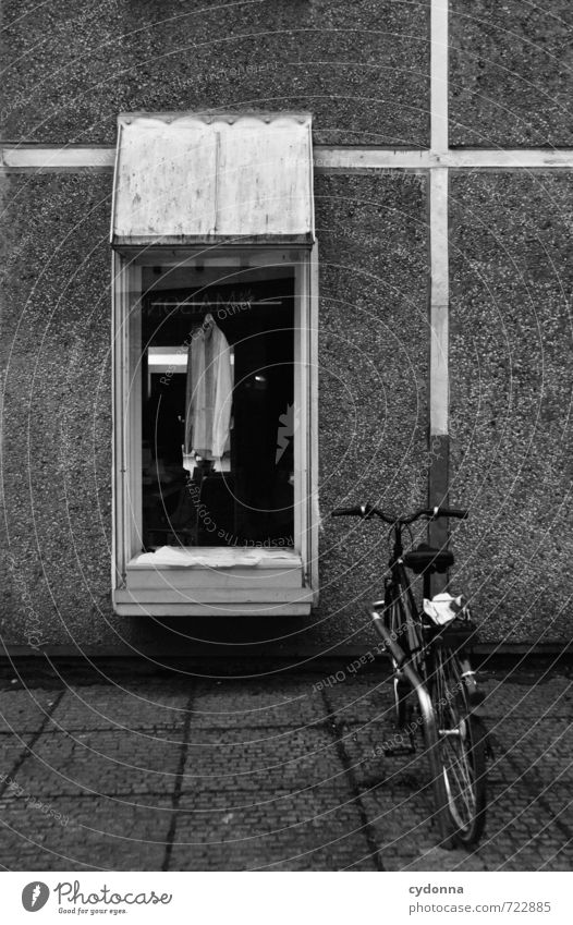 City Loneliness Window Wall (building) Sadness Architecture Wall (barrier) Fashion Facade Business Lifestyle Bicycle Clothing Transience Uniqueness Break