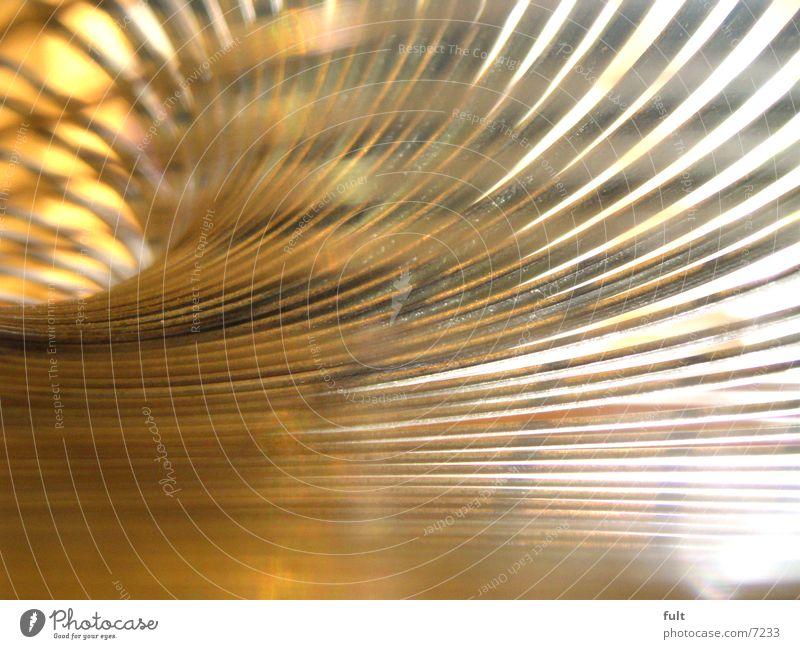Yellow Style Orange Metal Round Spiral Beige Swing Arch Curved