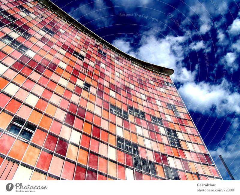 Sky Window Berlin Glass Company Facade Modern High-rise Television Agency Shutter Kreuzberg Venetian blinds Roller blind Formulated