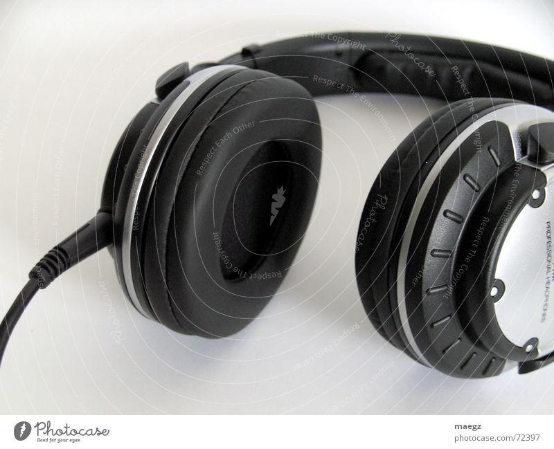 White Black Gray Music Lie Cable Ear Listening Silver Disc jockey Headphones Door handle Loud Connection Night life Hanger
