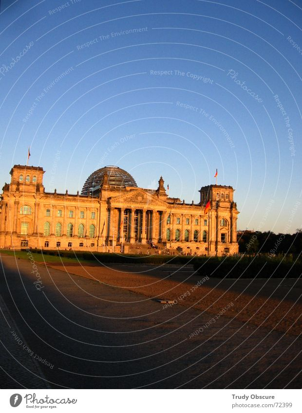 Berlin Building Construction site Past Manmade structures Historic Politics and state Capital city Reichstag