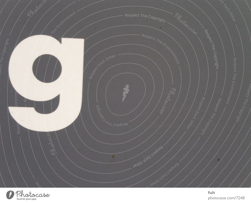- G - Typography White Gray Media Advertising Characters
