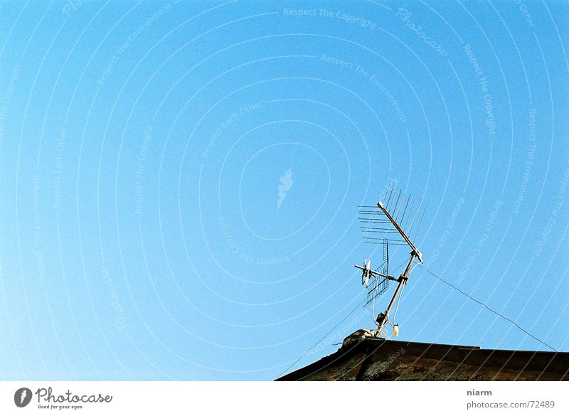 Sky Cable Roof Antenna Welcome Broacaster Electronic wiretapping Roof antenna