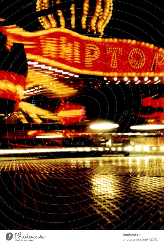 breakdancing Fairs & Carnivals Long exposure Carousel Light Breakdance Vertigo Rotation