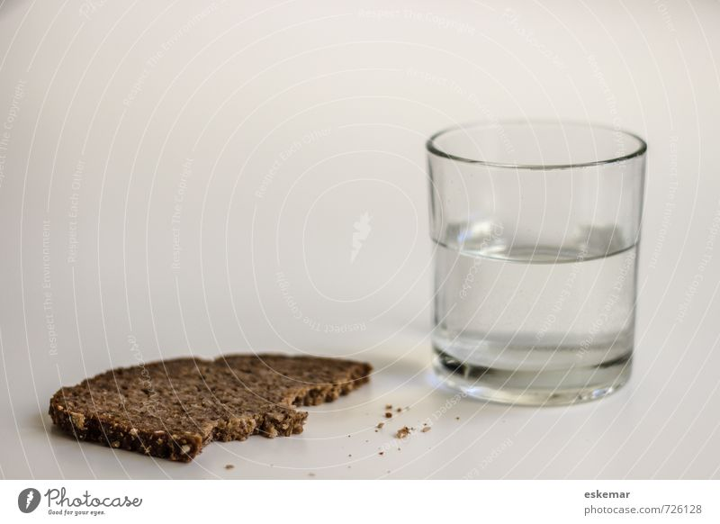 Brown Food Gloomy Glass Drinking water Authentic Esthetic Poverty Nutrition Simple Beverage Dry Appetite Bread Baked goods Diet