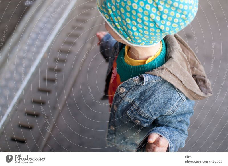 Human being Child City Loneliness Life Street Movement Boy (child) Think Fashion Leisure and hobbies Masculine Family & Relations Infancy Stand Cool (slang)