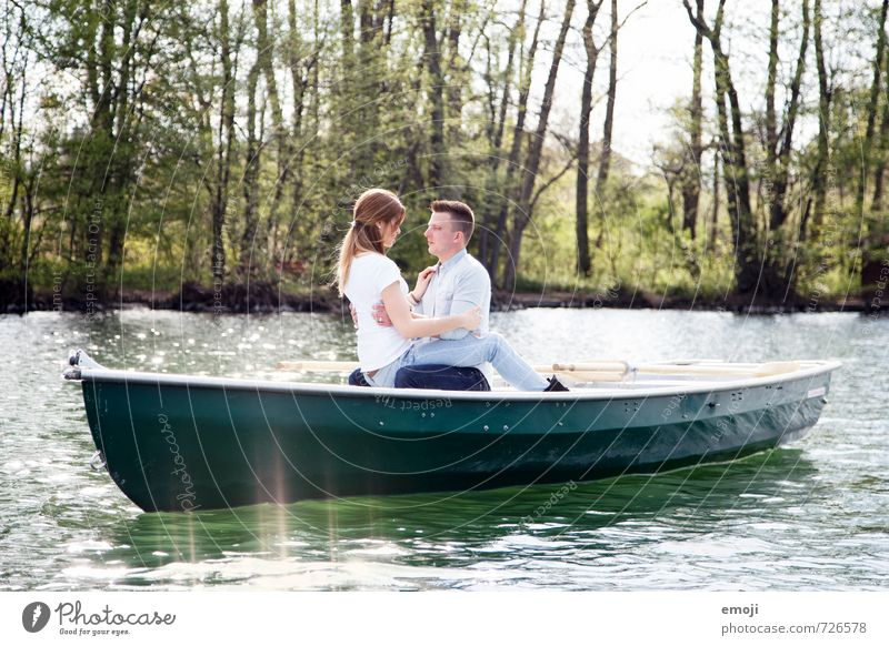 Human being Nature Youth (Young adults) Beautiful Young woman 18 - 30 years Young man Adults Environment Love Feminine Natural Lake Couple Leisure and hobbies